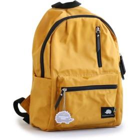 (スカンジナビアン フォレスト) SCANDINAVIAN FOREST デイパック リュックサック カバン 鞄 BAG ワンポイント 高さ39×横幅24×マチ12.5cm YELLOW