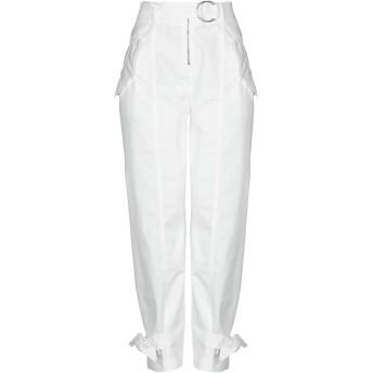 《セール開催中》PINKO レディース パンツ ホワイト 38 コットン 97% / ポリウレタン 3%