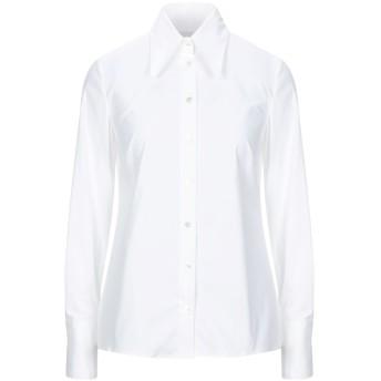 《セール開催中》VIRNA DR レディース シャツ ホワイト 40 コットン 98% / ポリウレタン 2%