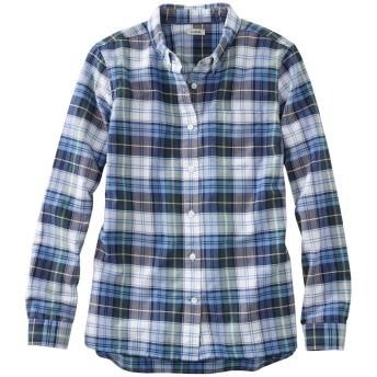 レイクウォッシュ・オーガニック・コットン・オックスフォード・シャツ、プラッド/Lakewashed Organic Cotton Oxford Shirt, Plaid