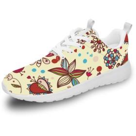 [XFTEN] スニーカー レディース メンズ カップル アニマル柄 鳥柄 花柄 12.5men ランニングシューズ ウォーキングシューズ スポーツシューズ 運動靴 旅行シューズ トレーニングシューズ