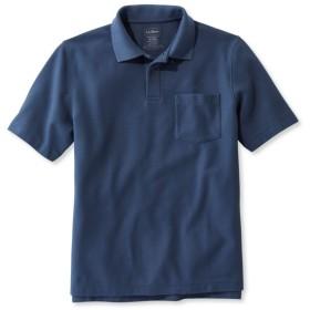 プレミアム・ダブル・エル・ポロシャツ、半袖 ポケット付き/Premium Double L Polo Shirt, Hemmed Short-Sleeve with Pocket