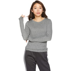 [ダンスキン] トレーニングウェア Non Stress 長袖Tシャツ [レディース] DA79102 チャコール (CH) 日本 L (日本サイズL相当)