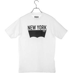 エシェルリベルテ Levis Jean Tシャツ 3LMST2680CC ユニセックス ユニセックス ホワイト/ブラック L 【ECHELLE Liberte】