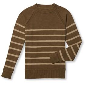 シグネチャー・ラグラン・プルオーバー・セーター、ストライプ/Signature Raglan Pullover Sweater,Stripe