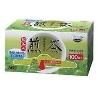 (業務用2セット)AGF 粉末茶新 茶人スティック 100本入