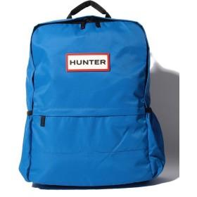 【40%OFF】 ハンター ORIGINAL NYLON BACKPACK レディース ブルー ONE 【HUNTER】 【セール開催中】