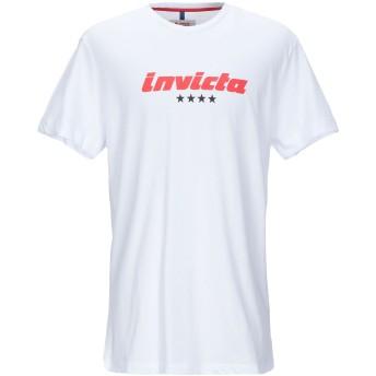 《セール開催中》INVICTA メンズ T シャツ ホワイト XS コットン 65% / ポリエステル 35%