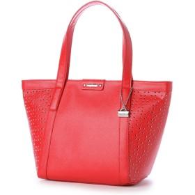 ラ バガジェリー LA BAGAGERIE 【ネット限定カラー】 パンチングトートバッグ Sサイズ (RED)