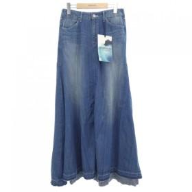 woadblue スカート