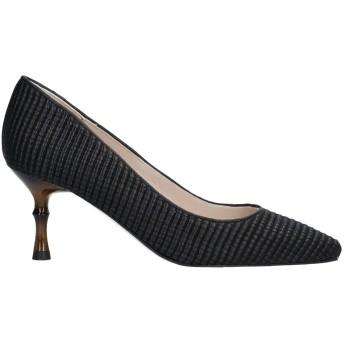 《セール開催中》DANIELE ANCARANI レディース パンプス ブラック 35 革 / 紡績繊維