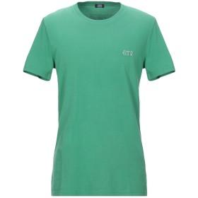 《セール開催中》CESARE PACIOTTI 4US メンズ T シャツ グリーン 52 コットン 100%