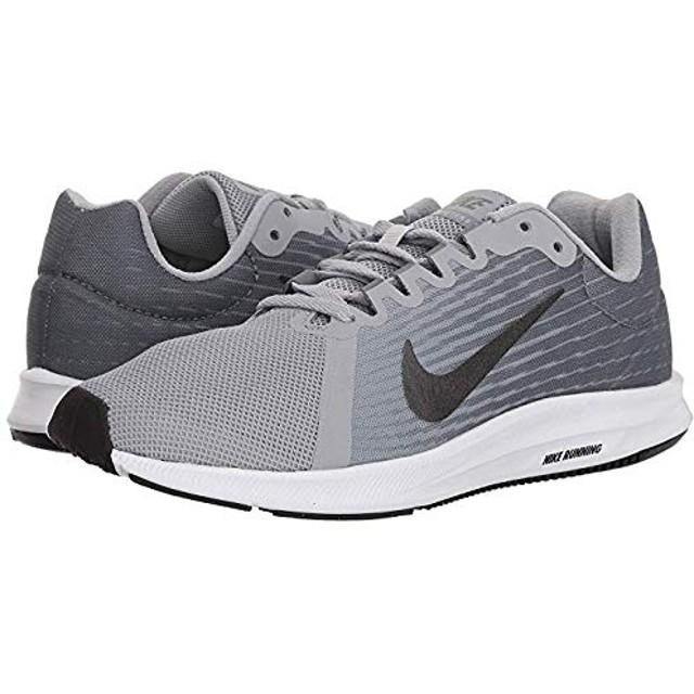 [ナイキ] レディーススニーカー・靴・シューズ Downshifter 8 Wolf Grey/Metallic Dark Grey/Cool Grey/Black (25cm) B - Medium [並行輸入品]