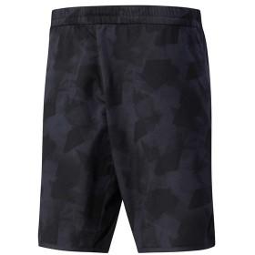 メール便OK adidas(アディダス) DJF14 メンズ テニスウェア MENS CLUB グラフィックハーフパンツ ブラック