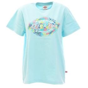 ディッキーズ 花柄ロゴ抜きプリントTシャツ DK006297CN31 (Lady's)