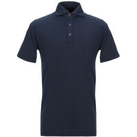 《期間限定セール開催中!》FEDELI メンズ ポロシャツ ダークブルー 48 コットン 100%