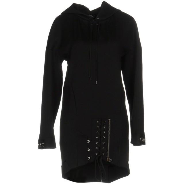 《セール開催中》ANTHONY VACCARELLO レディース ミニワンピース&ドレス ブラック 40 ウール 100%