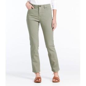 トゥルー・シェイプ・アンクル・ジーンズ、クラシック・フィット スリム・レッグ カラー/True Shape Ankle Jeans, Classic Slim Leg Colored