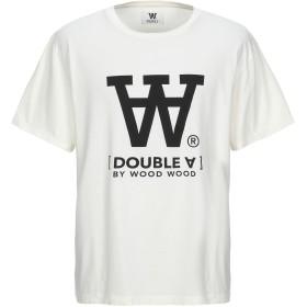 《期間限定セール開催中!》DOUBLE A by WOOD WOOD メンズ T シャツ アイボリー S コットン 100%