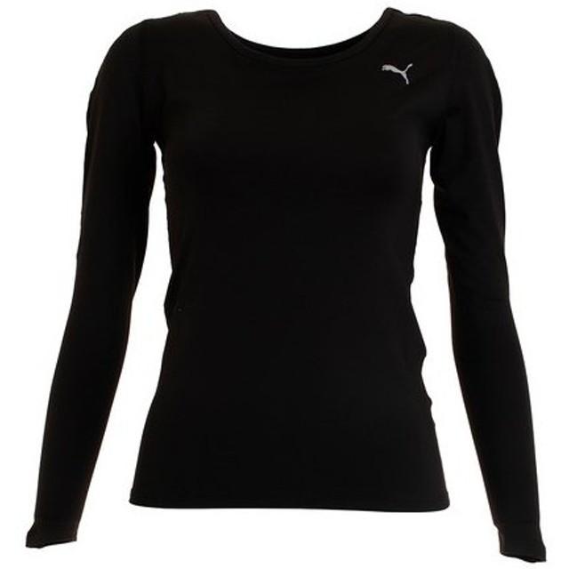 プーマ(PUMA) テック ライト トレーニング 長袖Tシャツ 518729 01 BLK (Lady's)
