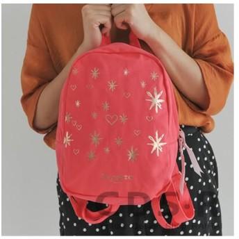 repetto STARS backpack バレエバックパック(50301/74/B0301T) コーラルオレンジ レペット