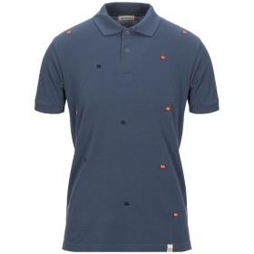 《期間限定セール開催中!》SUPPLIER DOPPIA P メンズ ポロシャツ ダークブルー S コットン 100%