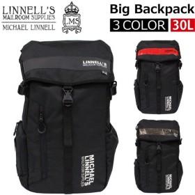 MICHAEL LINNELL マイケル リンネル Big Backpack ビッグ バックパック/リュック デイパック バッグ メンズ レディース 30L B4 ML-008