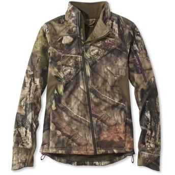 リッジ・ランナー・ソフト・シェル・ハンティング・ジャケット、カモ/Women's Ridge Runner Soft-Shell Hunting Jacket, Camo