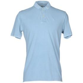 《セール開催中》GRAN SASSO メンズ ポロシャツ スカイブルー 56 コットン 100%