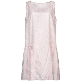 《セール開催中》BLUGIRL BLUMARINE レディース ミニワンピース&ドレス ライトピンク 46 ポリエステル 56% / コットン 38% / 金属化ポリエステル 4% / ナイロン 2%