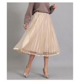 ANAP(アナップ)ベロア×チュールプリーツスカート