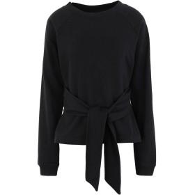 《セール開催中》ALLSAINTS レディース スウェットシャツ ブラック XS コットン 100% PETUNIA SWEAT