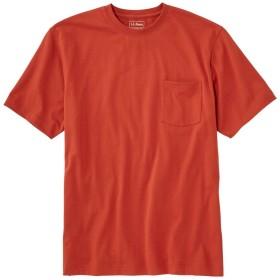 ケアフリー・アンシュリンカブル・ティ、半袖 ポケット付き/Carefree Unshrinkable Tee, Short-Sleeve with Pocket