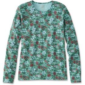 ピマ・コットン・ティ、長袖 クルーネック プリント/Pima Cotton Tee, Long-Sleeve Crewneck Print