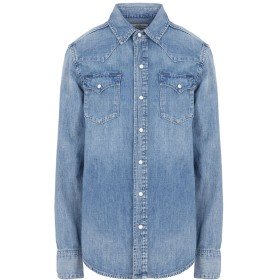 《セール開催中》POLO RALPH LAUREN レディース デニムシャツ ブルー XL コットン 100%