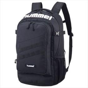 [hummel]ヒュンメル 拡張型・保冷保温バックパック (HFB6127)(90) ブラック[取寄商品]