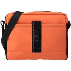 《セール開催中》BLAUER メンズ メッセンジャーバッグ オレンジ ポリエステル 100%