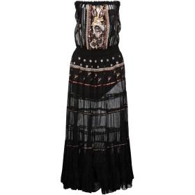 《セール開催中》GADO GADO by MARGRIET WAGERAAR レディース ビーチドレス ブラック S コットン 100%