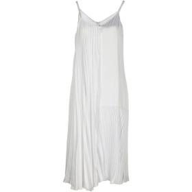 《セール開催中》CHRISTOPHER KANE レディース 7分丈ワンピース・ドレス ホワイト 6 レーヨン 100%