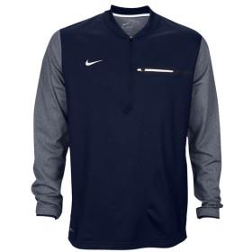 ナイキ Nike メンズ ジャケット ハーフジップ アウター Team Sideline Coach 1/2 Zip Top College Navy/White