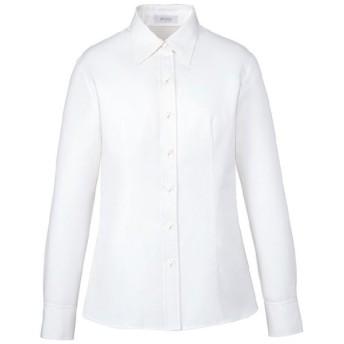 カーシーカシマ KARSEE シャツブラウス (長袖) EWB-658 11 ホワイト カーシー オフィスウェア 事務服