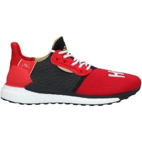 《セール開催中》ADIDAS メンズ スニーカー&テニスシューズ(ローカット) レッド 7.5 紡績繊維 / ゴム