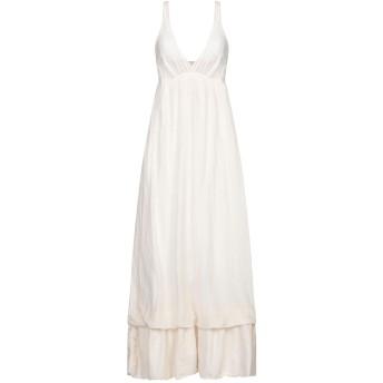 《セール開催中》ANIYE BY レディース ロングワンピース&ドレス アイボリー 42 コットン 70% / シルク 30%