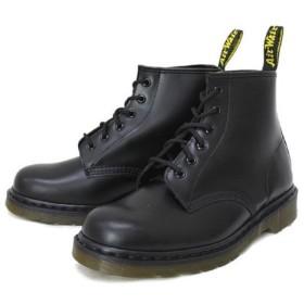 (ドクターマーチン) Dr.Martens 101 6EYE BOOT 6ホールブーツ BLACK ブラック UK8(約27cm)
