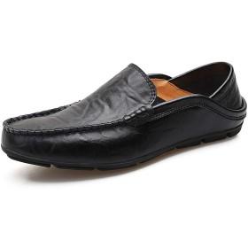 [LHWY] 革靴 メンズ レザーシューズ ソフトソール 通気 エンドウシューズ カジュアル 結婚式 軽量 令和新品