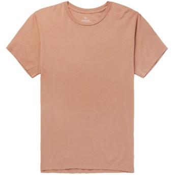 《セール開催中》S.K.U. SAVE KHAKI UNITED メンズ T シャツ サンド XS コットン 100%