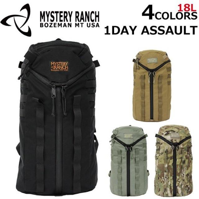 MYSTERY RANCH ミステリーランチ 1Day ASSAULT ワンデイ アサルト バックパック/リュック リュックサック バックパック デイパック バッグ メンズ USA製