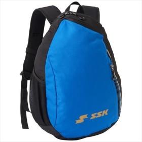 [SSK]エスエスケイ野球 ジュニアバックパック (BJ1006F)(9063) ブラック×Dブルー[取寄商品]