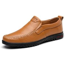 [LHWY] 革靴 メンズ レザーシューズ カジュアル シューズ シングル レイジーシューズ 結婚式 軽量 令和新品