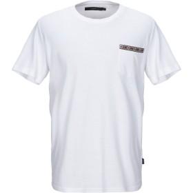 《セール開催中》SUIT メンズ T シャツ ホワイト L コットン 100%
